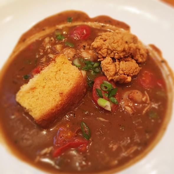 seafood gumbo @ Cafe B