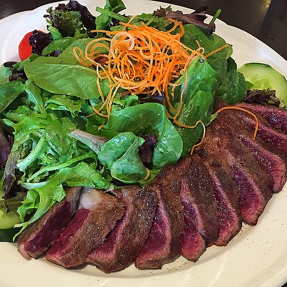 Steak Salad @ Anytime Cafe