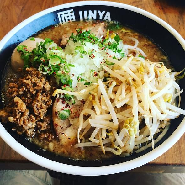 Cha Cha Cha Ramen Noodle @ Ramen Jinya