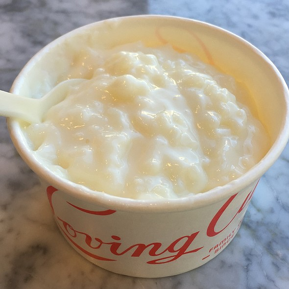 Madagascar Vanilla Bean Rice Pudding @ Loving Cup