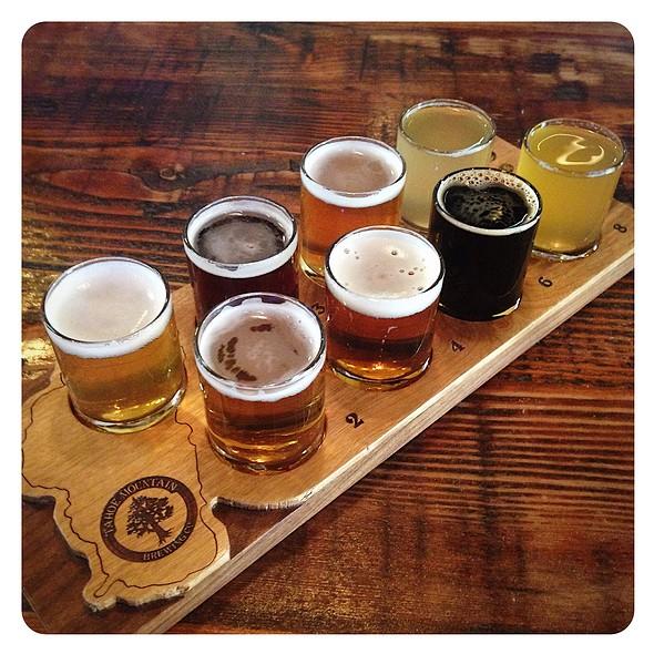 Beer Sampler @ Tahoe Mountain Brewery