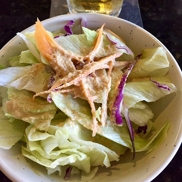 Side Salad @ Blue Fin Sushi & Thai Grill