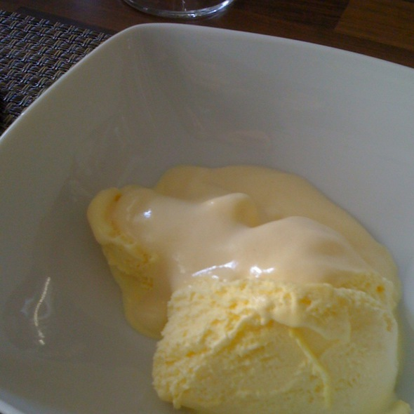 Sabayon With Ice-Cream @ Thermomix Brussel