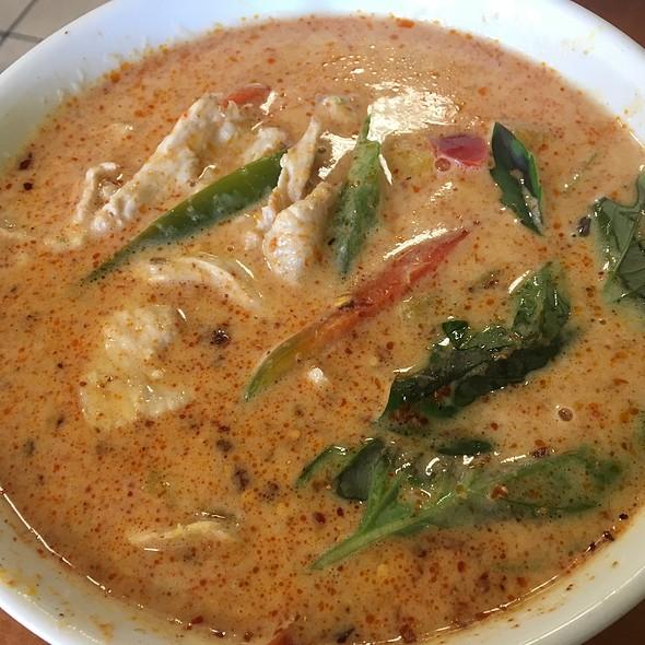 Curry Squash @ Kim's Thai Restaurant