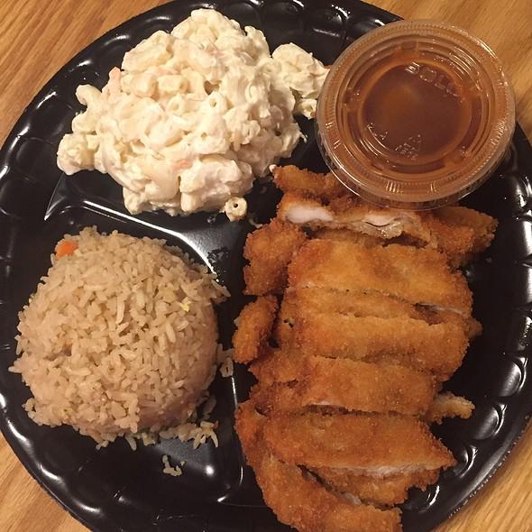 Chicken Katsu @ Waikiki Grill