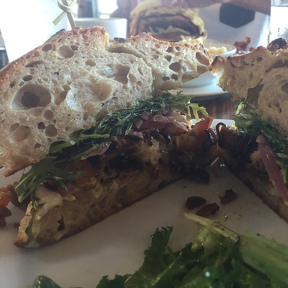 Shrimp Sandwich @ Press Street Station