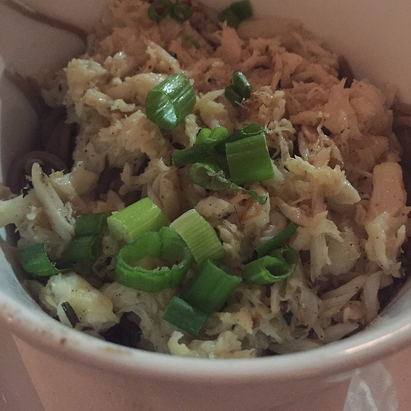 Buttered Soba Noodles With Crab @ Cafe Henri