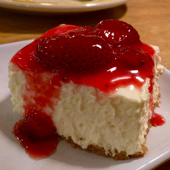 Strawberry Cheesecake @ Old Country Buffet