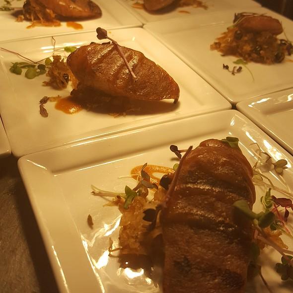 Grilled Bratwurst With Sauerkraut And Spätzle @ Renaissance Charlotte SouthPark Hotel