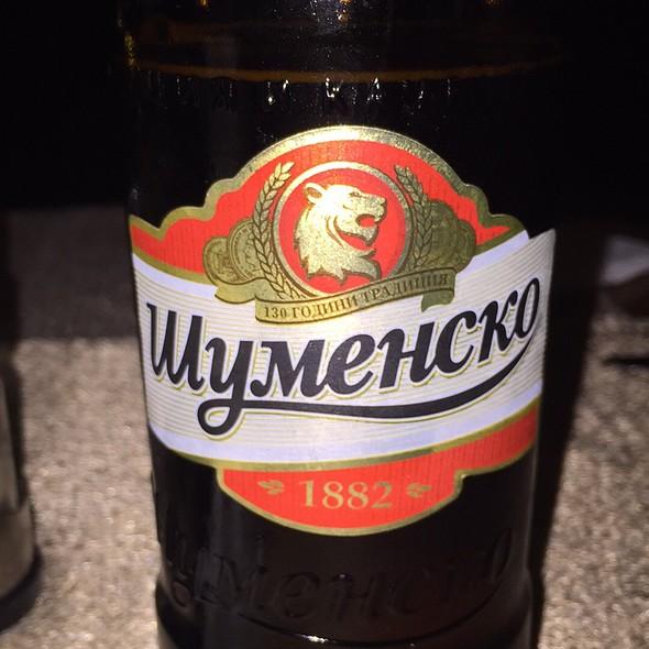 Beer @ Hotel Shumen
