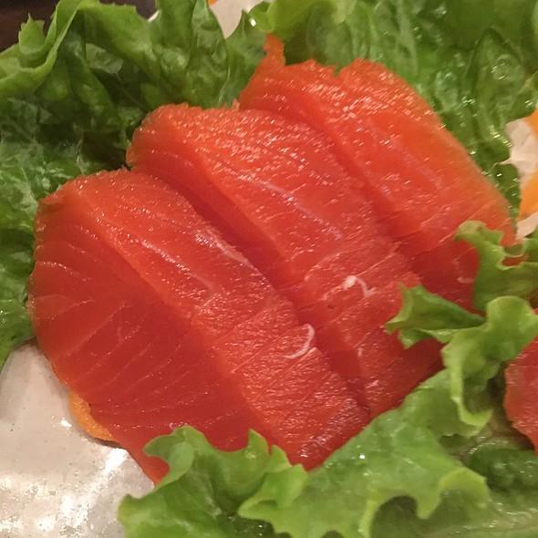 Wild Sockeye Salmon Sashimi @ nikkyu japanese restaurant