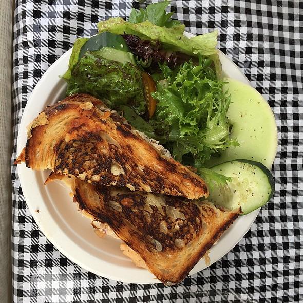 Albacore Tuna Melt With Lavender Bacon