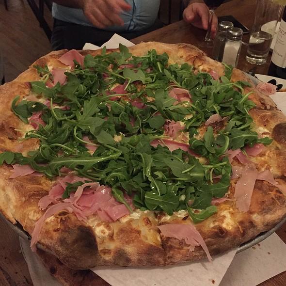 Prosciutto Pizza @ Pietro's Pizza Coal Oven Pizzeria