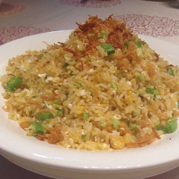 Conpoy And Egg White Fried Rice @ Ya Yuan