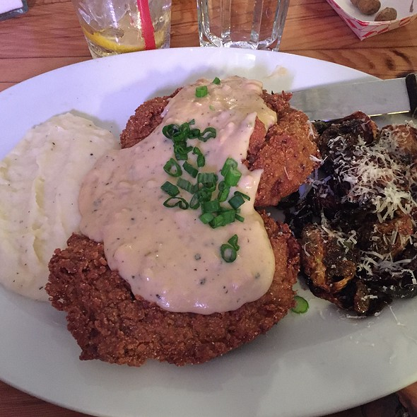 Country Fried Steak @ Rusty's Southern