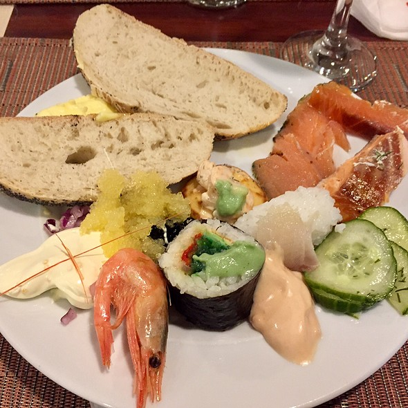 Cold Seafood Buffet Selections @ M/S Gabriella