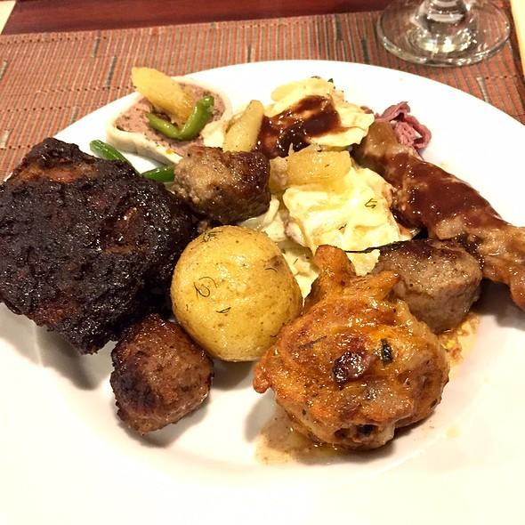 Meat Buffet Selections @ M/S Gabriella