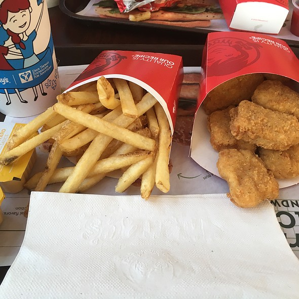 #10 Combo Meal @ Wendys
