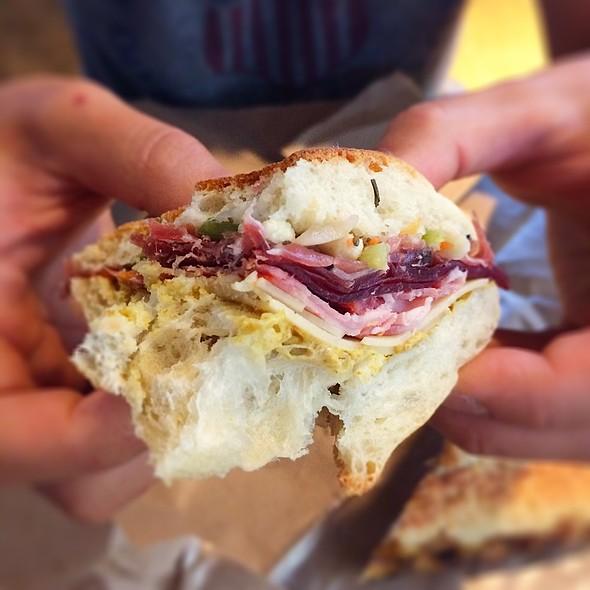 Tritalian Sandwich @ Mondo Market