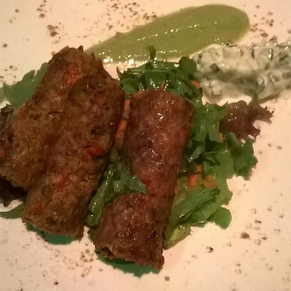 Gilaffi seekh kebab @ Turmeric flavors of india