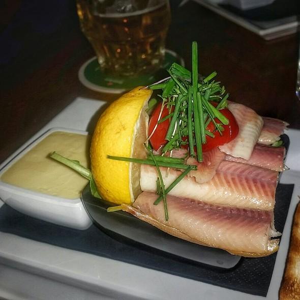 Smoked Eel @ Restaurant De Nachtwacht