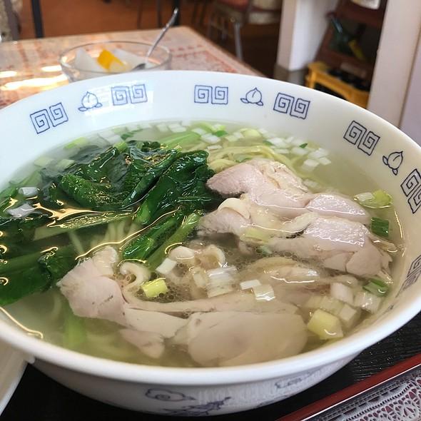 鶏塩ラーメン @ 恵豊楼