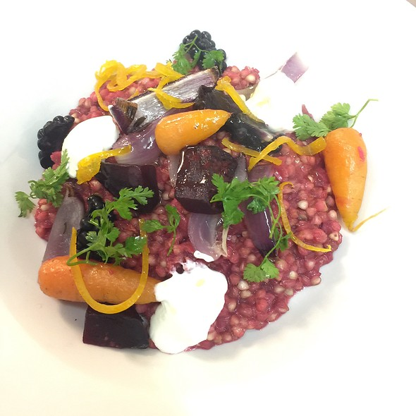 Buckwheat, Beetroot, Carrot And Sour Cream
