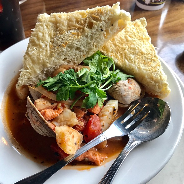 Northwest Cioppino Stew @ Amy's On the Bay