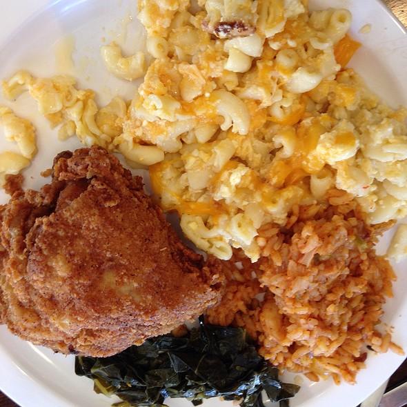 Buffett Plate- Soul Food @ Kelsey's
