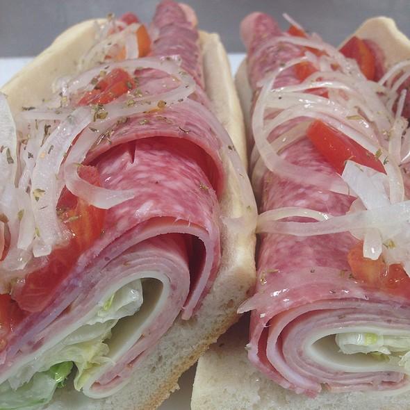 Regular Italian Sub @ Pete's Subs