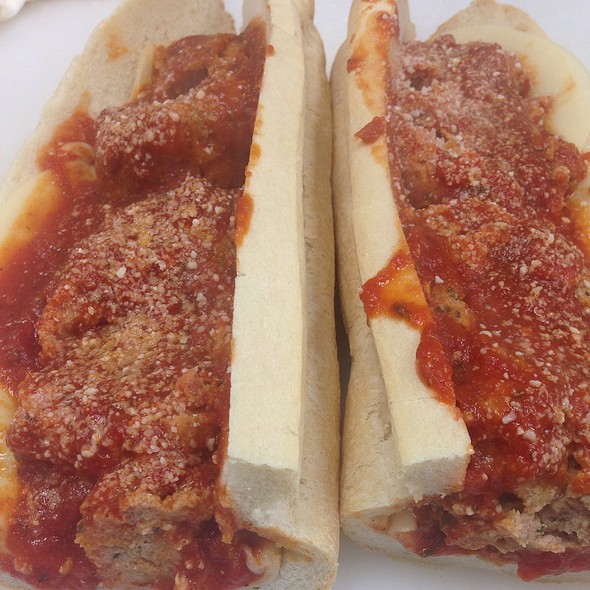 Meatball Parm @ Pete's Subs