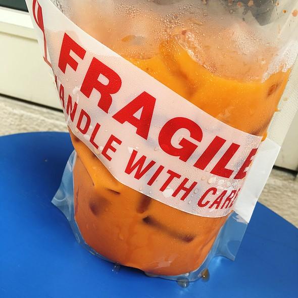 Thai Iced Tea @ THE LAB