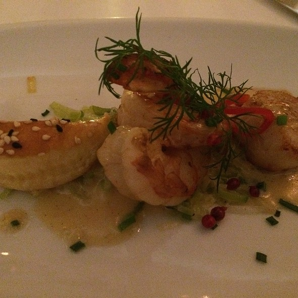 Vanilla Shrimp And Scallop