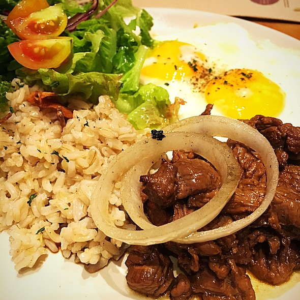 Beef Steak Tagalog With Eggs @ The Wholesome Table