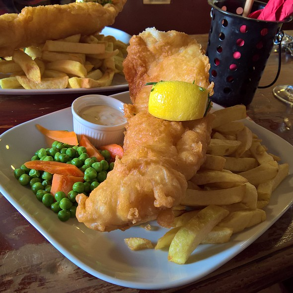 North Sea Cod & Chips @ Prince Of Wales Inn
