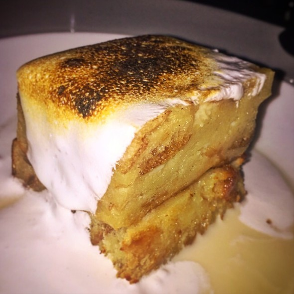 Tres Leches Bread Pudding @ Hay Merchant