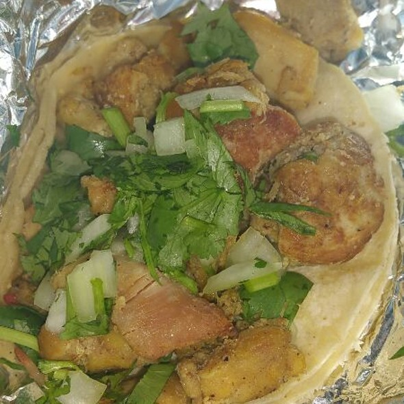 Chicken Taco @ Pepe's Mexican Food