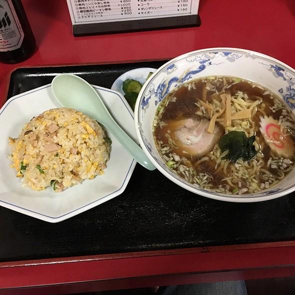 Aセット @ 中華料理 海道