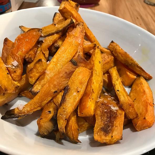 Sweet Potato Fries @ Chookys