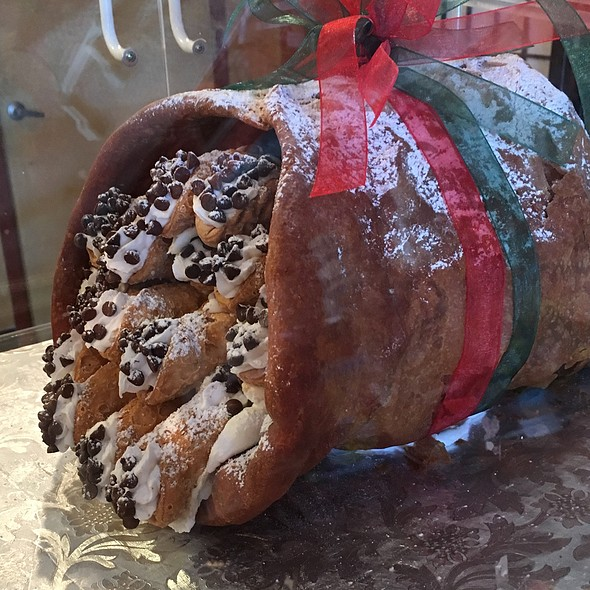 Giant Cannoli @ Saratori's Pastry Shop