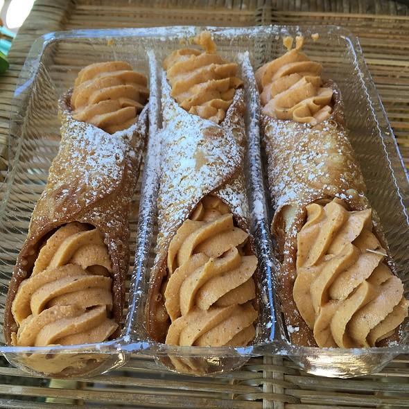 Pumpkin Cannoli @ Saratori's Pastry Shop