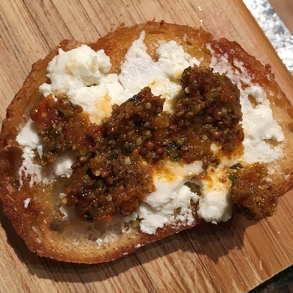 Goat Cheese And Olive Tapenade Baguette