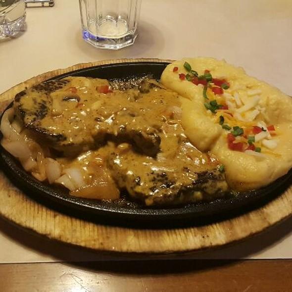Sizzling Mushroom Steak