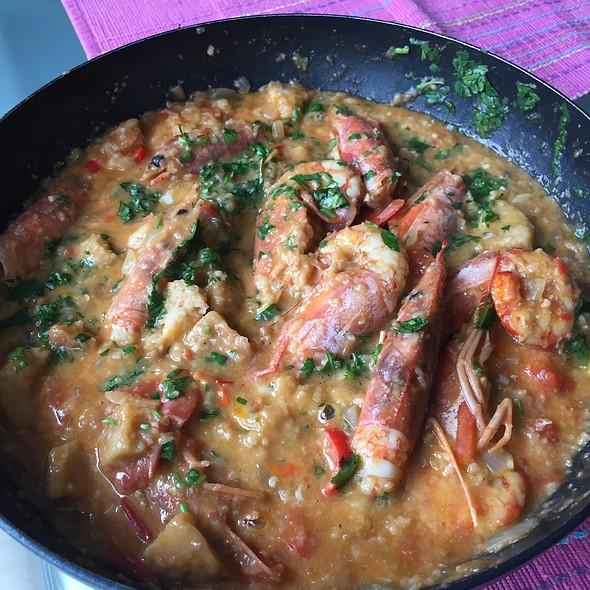Açorda de Gambas @ Bz's Kitchen (home)
