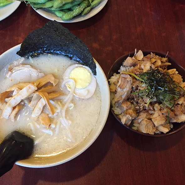 Ramen And Chasu Don
