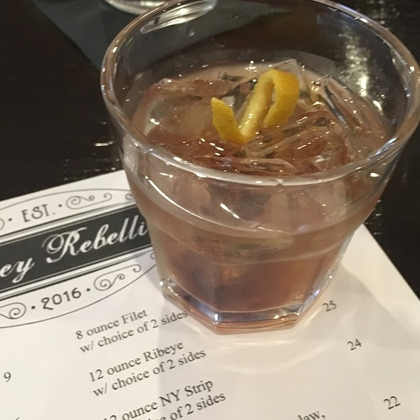 Old Fashioned @ Whiskey Rebellion