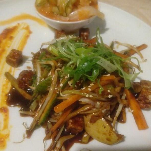 Wok With Tofu And Korean Homemade Kiwichi
