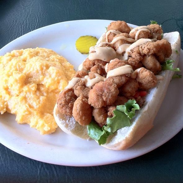 fried shrimp po u0027 boy at black hammock restaurant black hammock restaurant menu   oviedo fl   foodspotting  rh   foodspotting