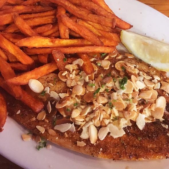 Pompano Amandine @ Blue Crab Restaurant