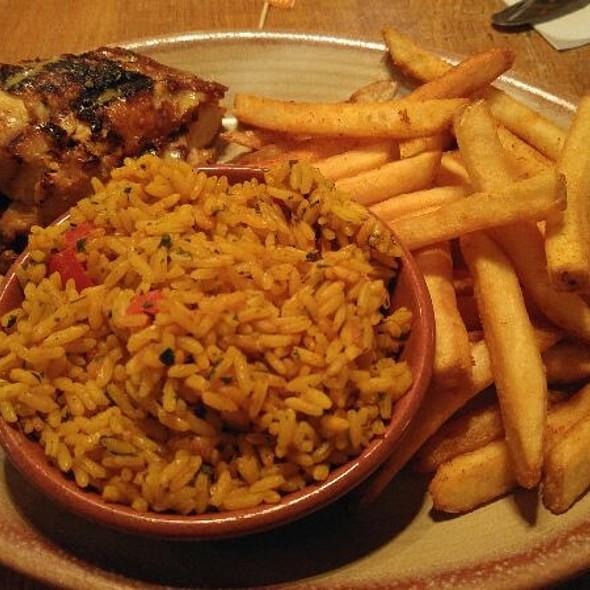 1/4 Breast Chicken Rice Corn @ Nando's Peri-Peri
